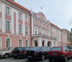 Das estnische Parlament im ehemaligen Schloss von Tallinn Foto: Peter Richter